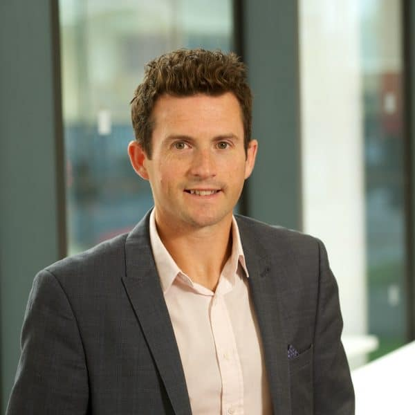 Picture of David Eiser, research fellow at the Fraser of Allander Institute