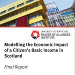 Modelling the Economic Impact of a Citizen's Basic Income in Scotland