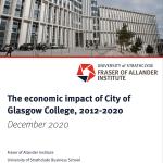The economic impact of City of Glasgow College, 2012-2020
