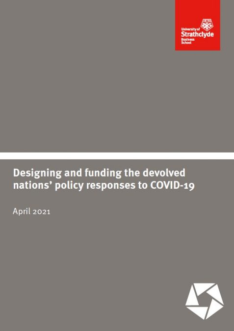 Designing and funding devolved nations policy reponse to covid cover
