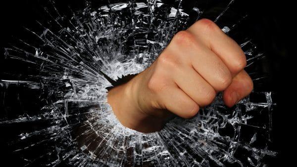 Smash glass ceiling