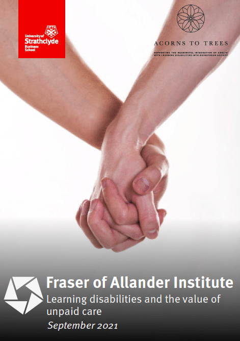 Unpaid care report cover